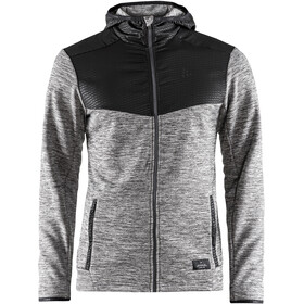 Craft Breakaway Jersey Hood Jacket Men dk grey melange